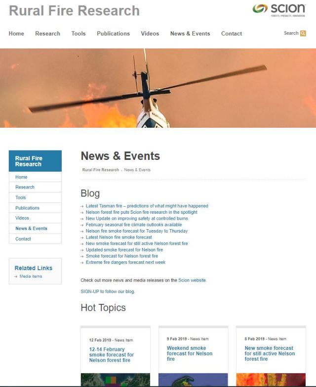 News&Events page