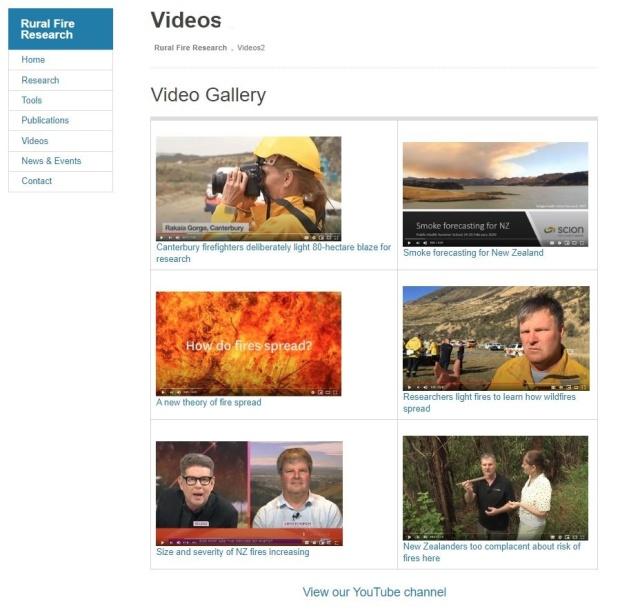 Web videos page_LI